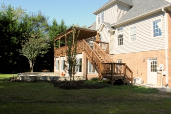 deck building, patio contractor winston-salem nc