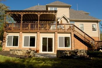 deck building, patio contractor winston-salem nc