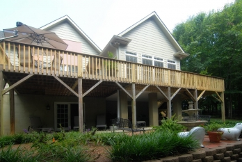 outdoor patios, fire pits, deck builder in winston-salem