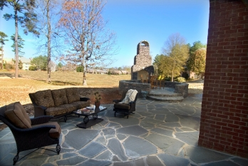 patio, fire pit, outdoor kitchen contractor winston-salem nc