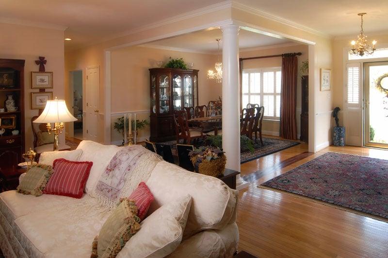 Living Room Remodeling & Renovation Project
