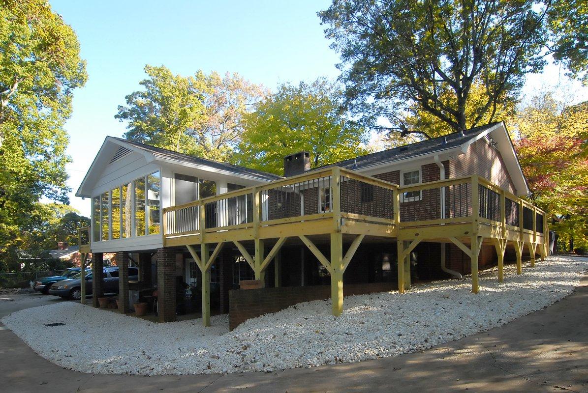 Deck Building Contractor Winston Salem-NC
