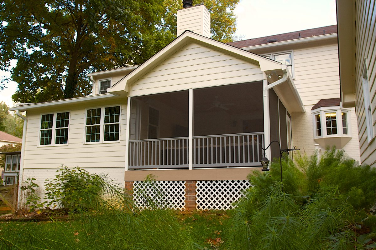 Deck & Sunroom Remodeling & Renovation Contractor Winston-Salem NC